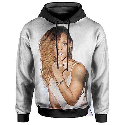 Moletom Com Capuz Unissex Rihanna md01