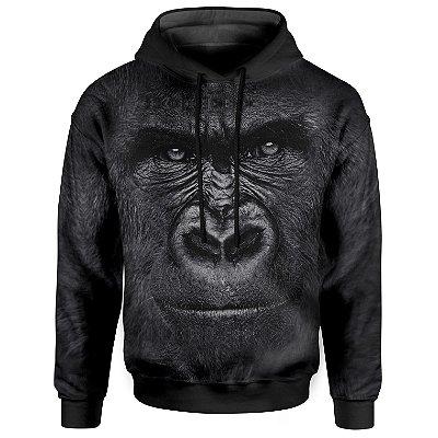 Moletom Com Capuz Unissex Gorila md01