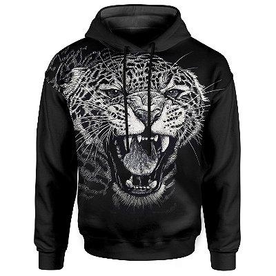 Moletom Com Capuz Unissex Leopardo md01