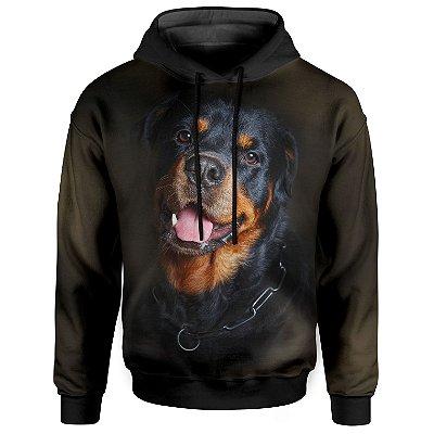 Moletom Com Capuz Unissex Rottweiler md02