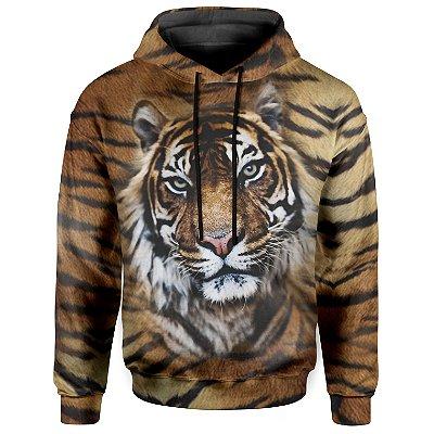 Moletom Com Capuz Unissex Tigre md02