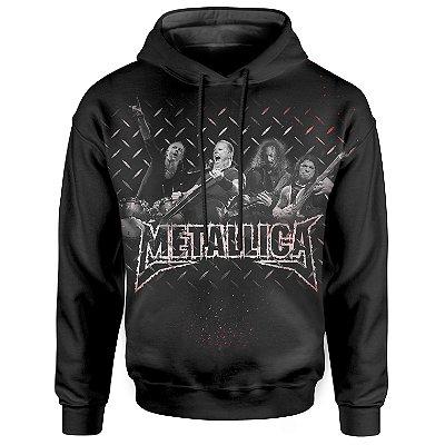 Moletom Com Capuz Unissex Metallica md01