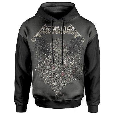 Moletom Com Capuz Unissex Metallica md02