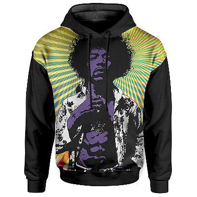 Moletom Com Capuz Unissex Jimi Hendrix md01