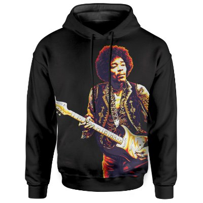 Moletom Com Capuz Unissex Jimi Hendrix md02