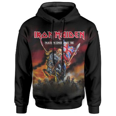 Moletom Com Capuz Unissex Iron Maiden md02