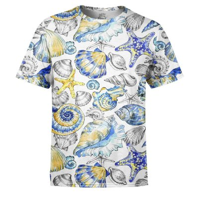 Camiseta Masculina Fundo do Mar Vintage Estampa Digital - OUTLET