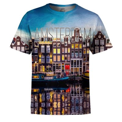 Camiseta Masculina Amsterdam Estampa Digital - OUTLET