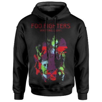 Moletom Com Capuz Unissex Foo Fighters md04