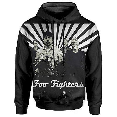 Moletom Com Capuz Unissex Foo Fighters md02