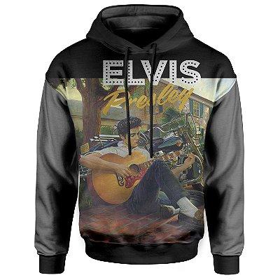 Moletom Com Capuz Unissex Elvis Presley md02