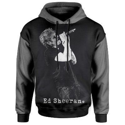 Moletom Com Capuz Unissex Ed Sheeran md01