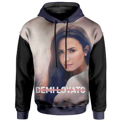 Moletom Com Capuz Unissex Demi Lovato md01