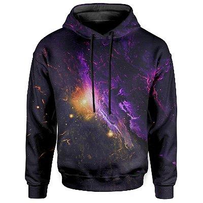 Moletom Com Capuz Unissex Galaxia Md03