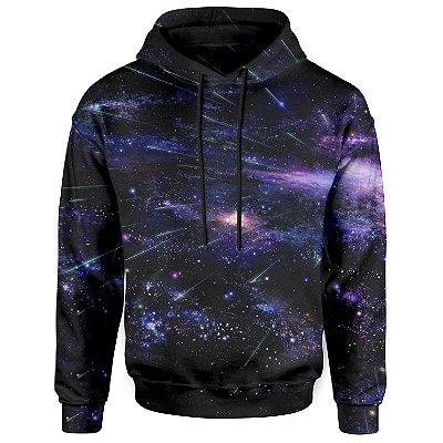 Moletom Com Capuz Unissex Galaxia Md05