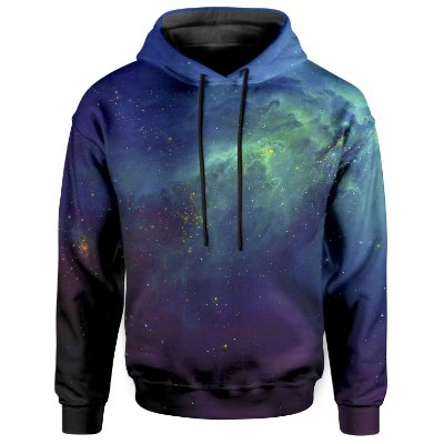 Moletom Com Capuz Unissex Galaxia Md04