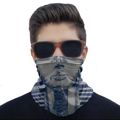 Máscara Bandana Esfinge Egito Proteção Ciclismo Pesca