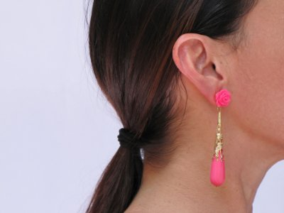 Brinco Madrid Pink