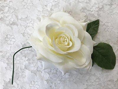 Rosa Média Branca