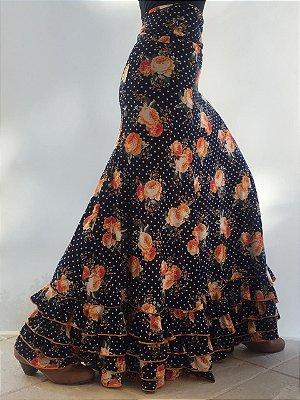 Saia Cartagenera Flor Lunarcitos