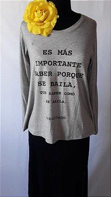 Camiseta Porque se baila