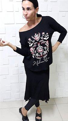 Kit Saia Rumbas Visco + Camiseta Manton 7/8