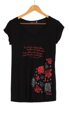 Camiseta Zorongo Flores