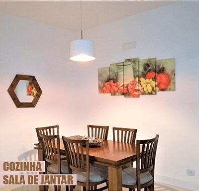 Quadro Cozinha e Sala de Jantar