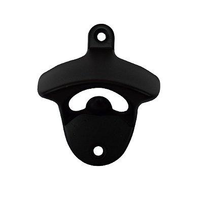 Abridor Fixo de Garrafas - Preto Fosco - Kit 10 unidades