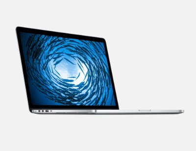 "Novo Apple Macbook Pro 15"" MJLQ2BZ/A Intel Quad Core i7 2,2 GHz 16GB 256GB SSD - Prateado - MJLQ2"