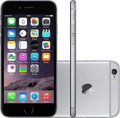 Smartphone Apple iPhone 6S 16GB desbloqueado Space Gray  - Iphone 6S cinza espacial
