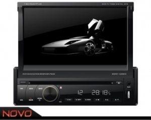 DVD Automotivo Napoli 7968 7 Retràtil Touch Gps Tv Digital Usb Sd Bluetooth