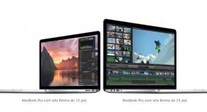 "Apple Macbook Pro MGX72BZ/A Tela de Retina 13"" - Intel Core i5 2.6GHz / 8GB / 128GB Flash- MGX72"