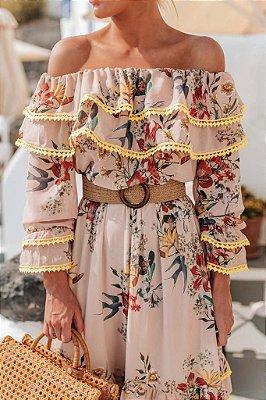 Vestido Talia com cinto