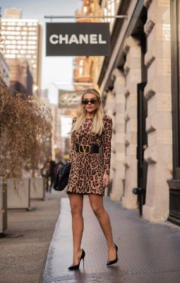 Vestido Animal Print Carrie