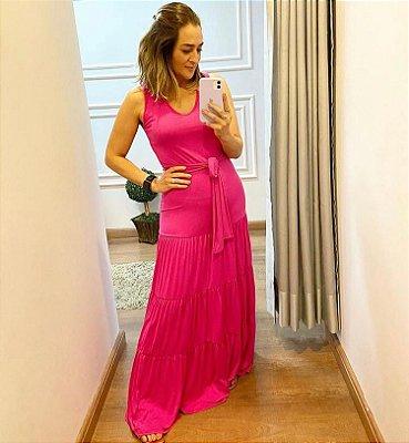 Vestido Pink Malha