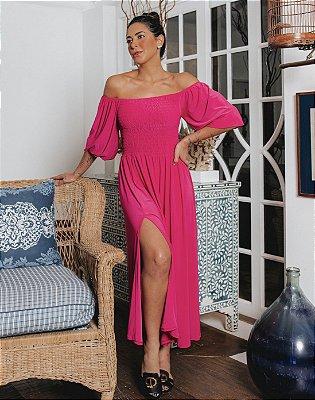Vestido Íris Pink