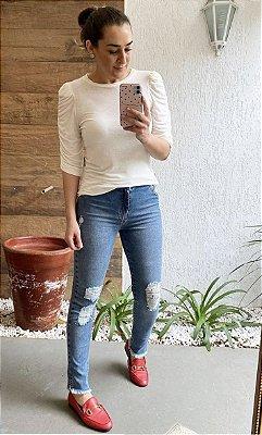 Calça Jeans Média