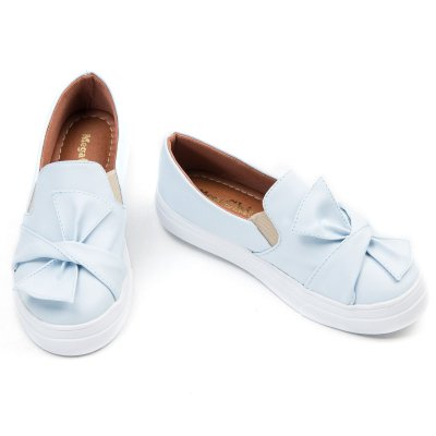 Slip On Azul Confort  MegaChic