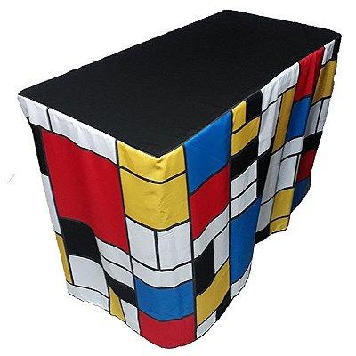 Capa Envelope para mesa dobrável - Mondrian