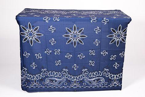 Capa Multiuso Bandana Azul com ilhoses 240x140cm
