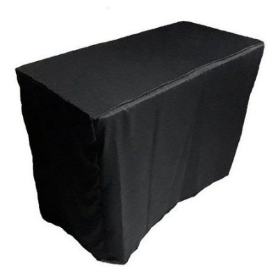 Capa Envelope para mesa dobrável M - Black Total
