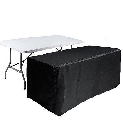 Capa Envelope para mesa dobrável G - Black Total