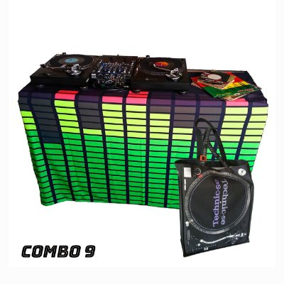 COMBO 9 - Capa Multiuso Led Digital + Sacola Technic-se Black