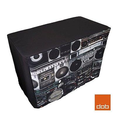 Capa Envelope Boombox para mesa dobrável - 122x61x84cm