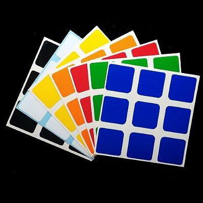 Adesivo 3x3x3 Z-Stickers 56 e 57mm