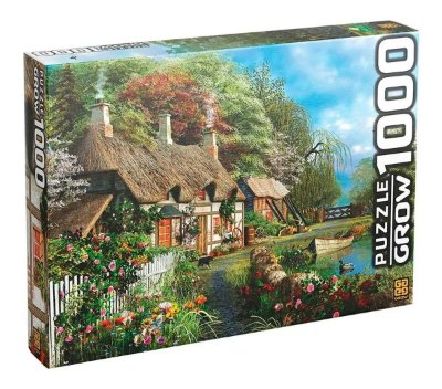 Quebra-Cabeça Casa no Lago 1000 Peças