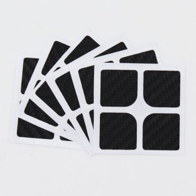 Adesivo 2x2x2 Carbono Moyu
