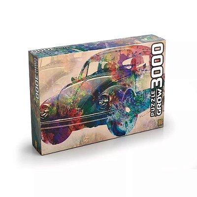 Quebra-Cabeça Vintage Car 3000 Peças