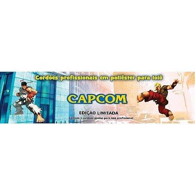 03 Cordas Profissionais em Poliéster para Ioiô Capcom